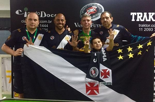 Vasco da Gama - Campeão Brasileiro de Sectroball 2017