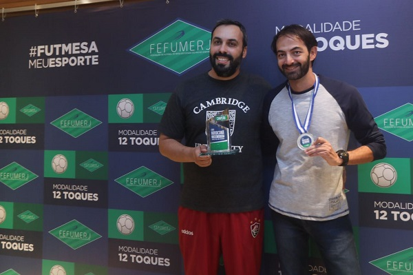1º Rafael Paiva, 2º Leandro Lacerda