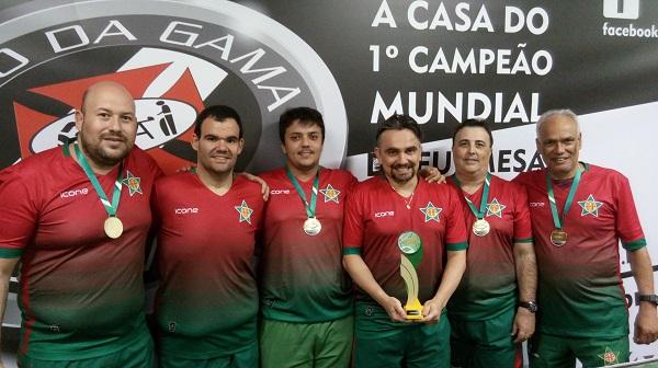 Portuguesa Campeã Estadual Interclubes