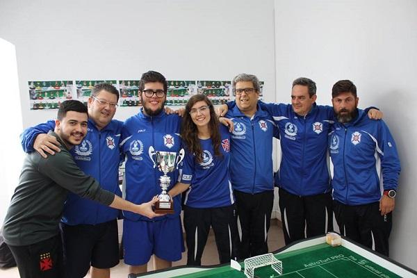 Belenenses - Campeão do Torneio dos Descubrimentos na modalidade Subbuteo