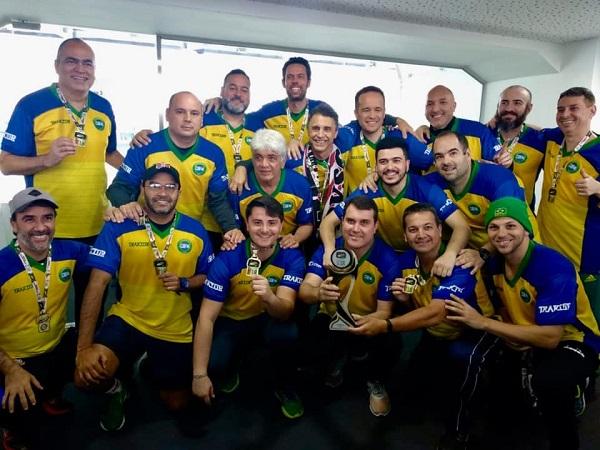 Brasil - Tetracampeão Mundial de Seleções da modalidade Bola 12 Toques em 2018