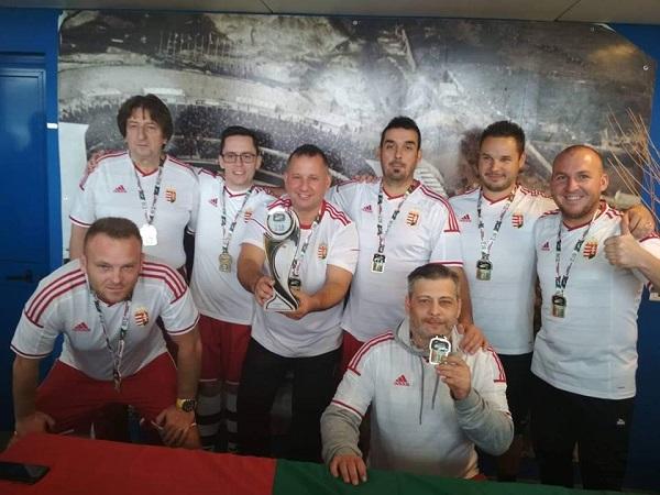 Hungria – Heptacampeã Mundial de Seleções da modalidade Sectorball em 2018